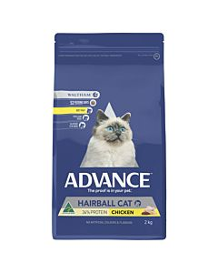 ADVANCE CAT ADULT HAIRBALL CHICKEN 2KG