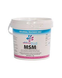 Abbey Plus MSM Powder 1kg