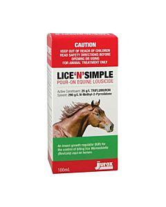 Lice'n'simple Pour On 100ml